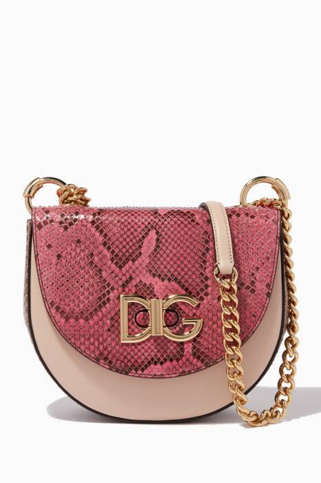 Pink Medium Wifi Cross-Body Bag