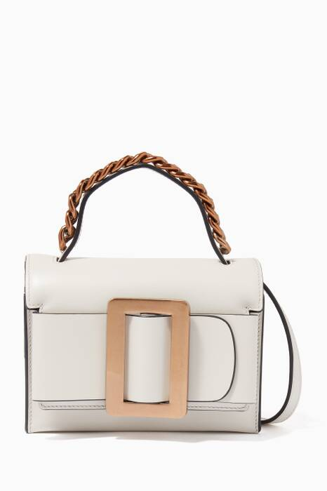 Ivory Small Fred Leather Bag