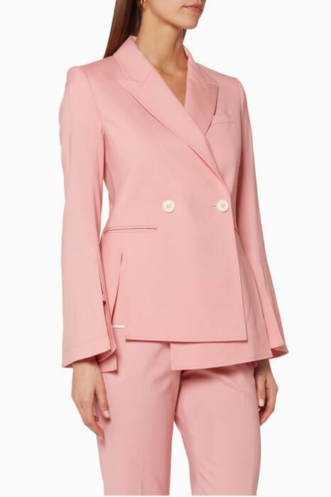 Pink Dahlia Tailored Jacket