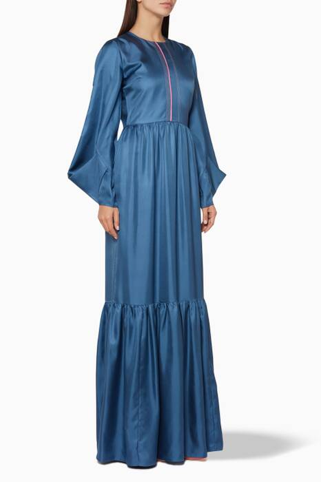 Blue Elvira Dress