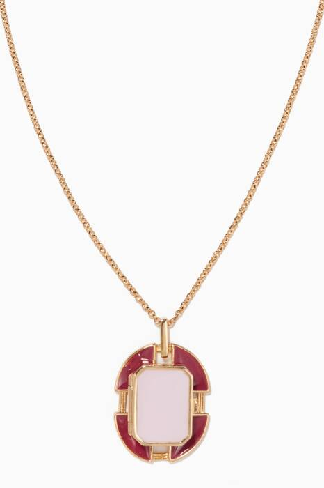 Pink Small Chevalier Legion Of Honour Necklace
