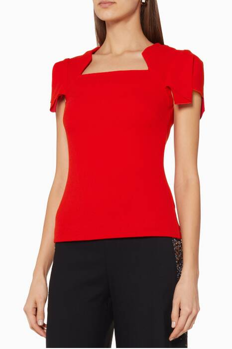 Red Darfield Top