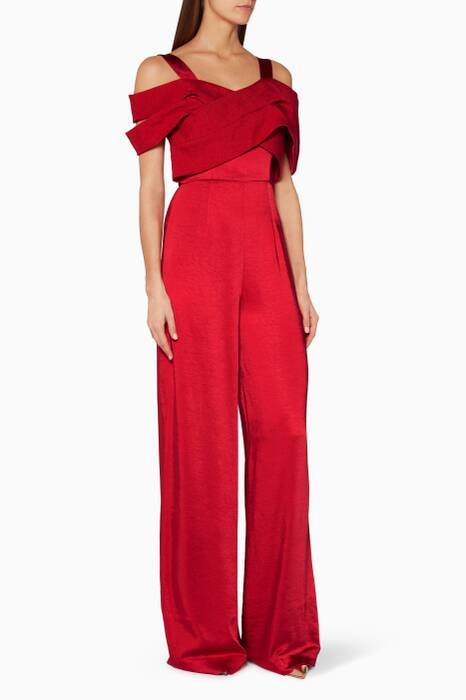 Red Vita Jumpsuit