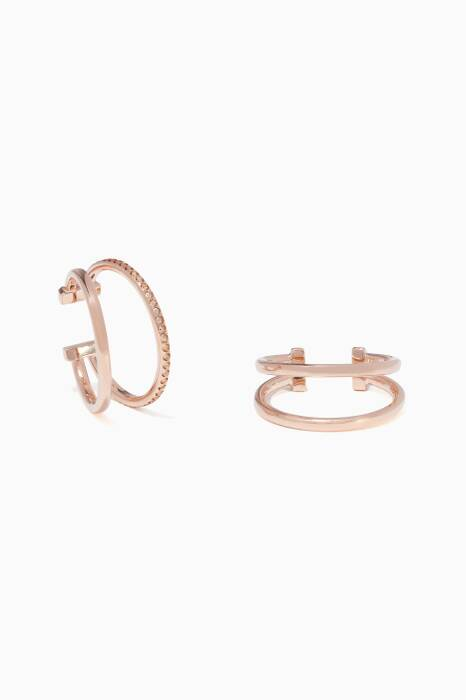 Rose-Gold Valentina Lobe Cuff