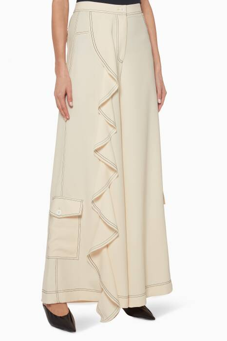 Cream Coco Trousers