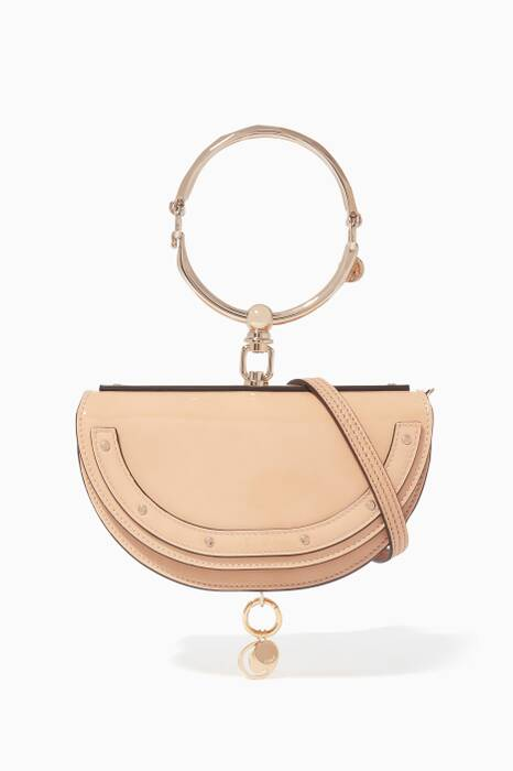 Blush-Nude Nile Minaudière Bag