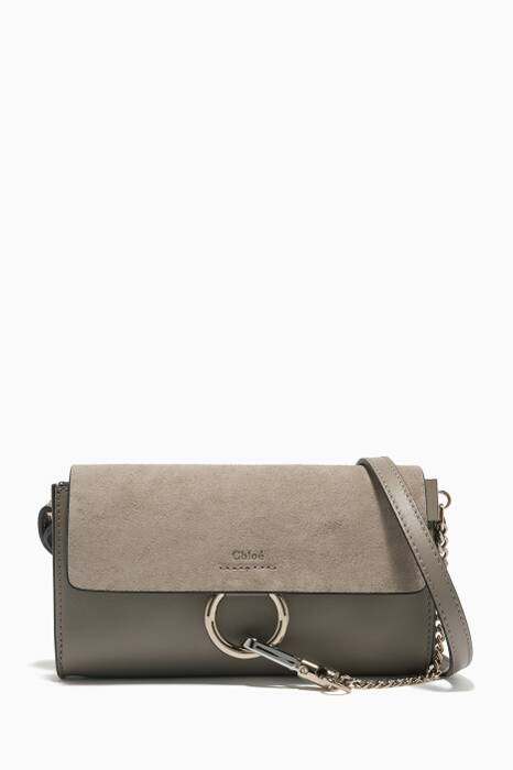 Motty Grey Faye Chain Wallet