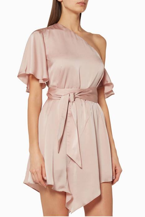 Blush Transcend Mini Dress
