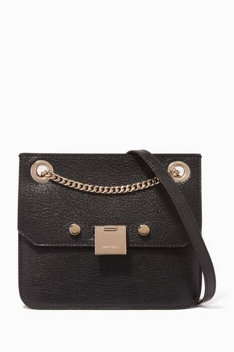 Black Rebel/XB Leather Shoulder Bag