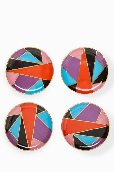 Harlequin Coaster, Set of 4