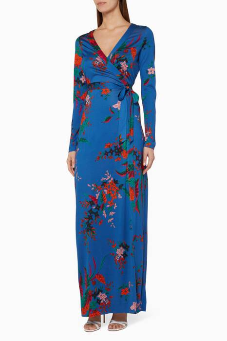 Blue Julian Maxi Dress