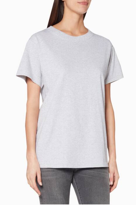 Light-Grey Logo Slim T-Shirt