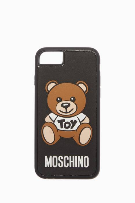 Black Teddy Logo iPhone® 8 Cover