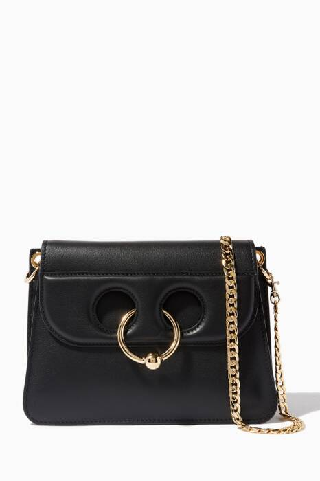Black Mini Pierce Shoulder Bag