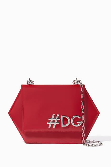 Red Small #DG Shoulder Bag