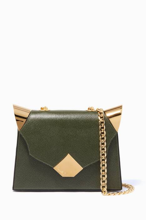 Olive Baby Marshall LV-Print Top Handle Bag