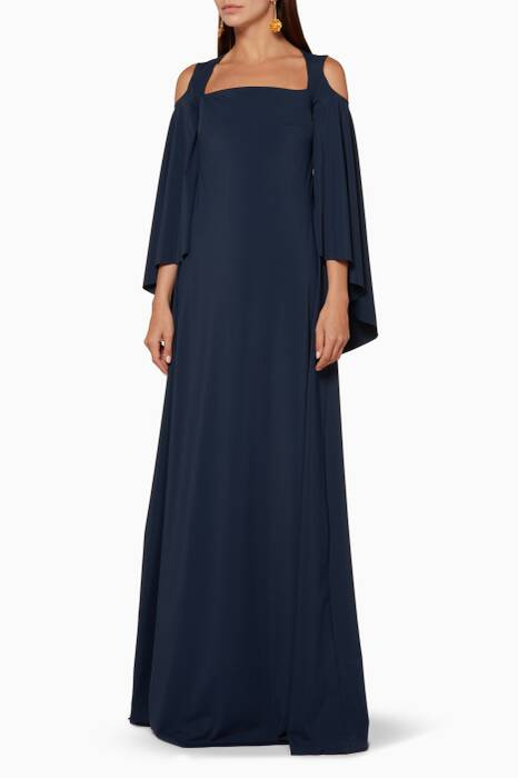Dark-Blue Selina Dress