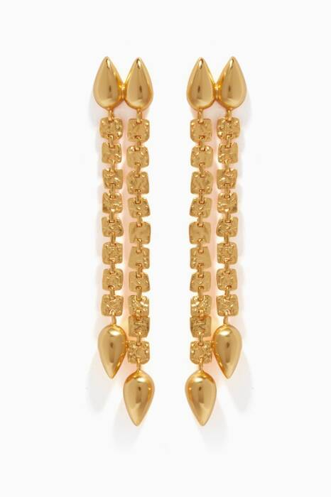 Gold Ishta Earrings