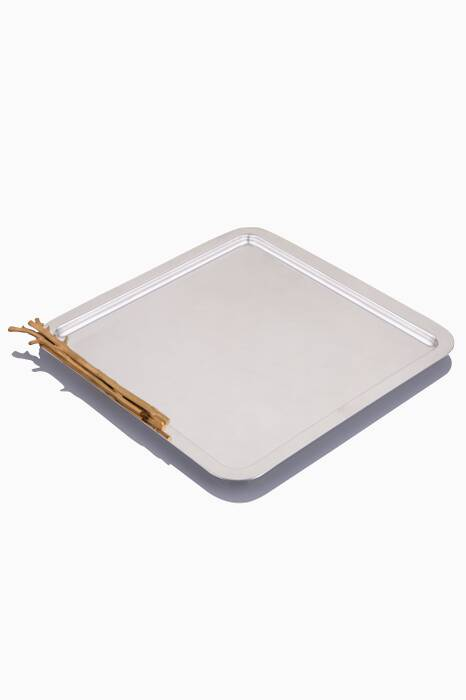 Gold & Silver Plated Tray