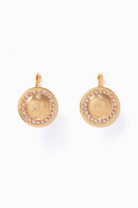 Gold Tina Earrings