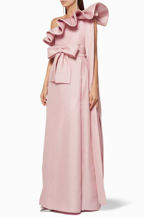 Light-Pink Ruffled Dress