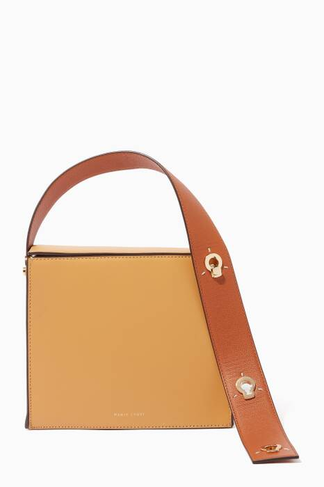 Sand-Brown Zoe Convertible Shoulder & Clutch Bag