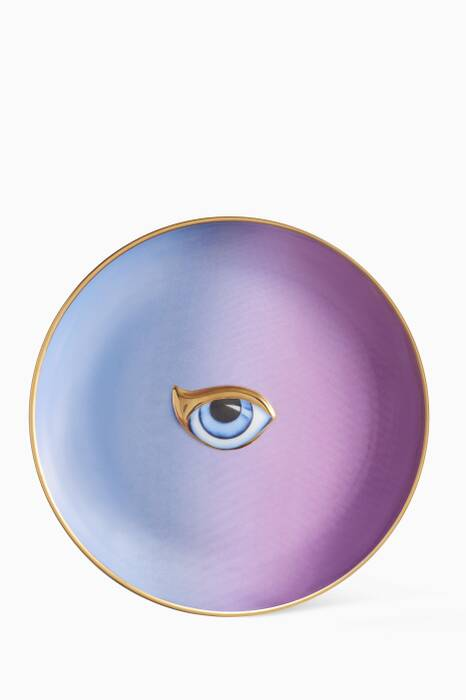 Blue & Purple Lito Plate