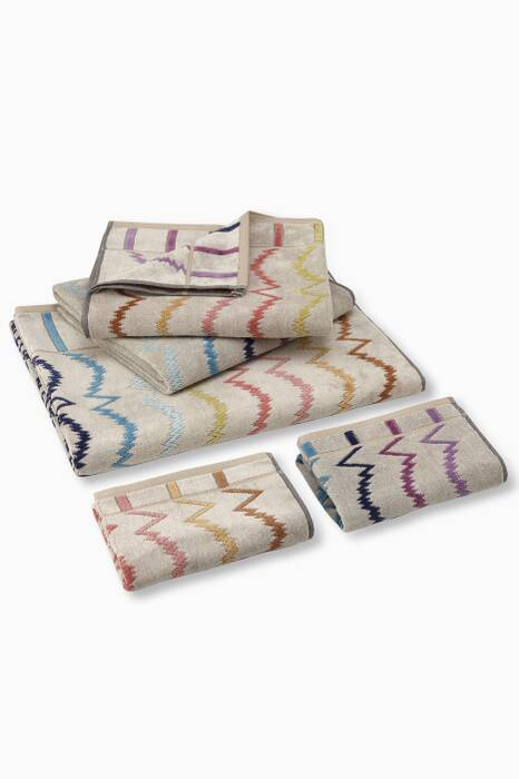Cream Vera Towels, Set of 5