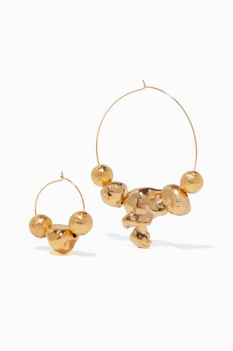 Gold Papakolea Earrings