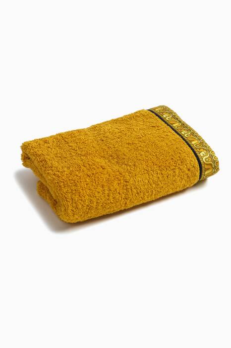 Black & Gold Barocco & Robe Hand Towel
