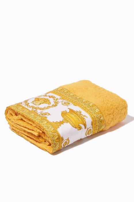 Gold Baroque Face Towel