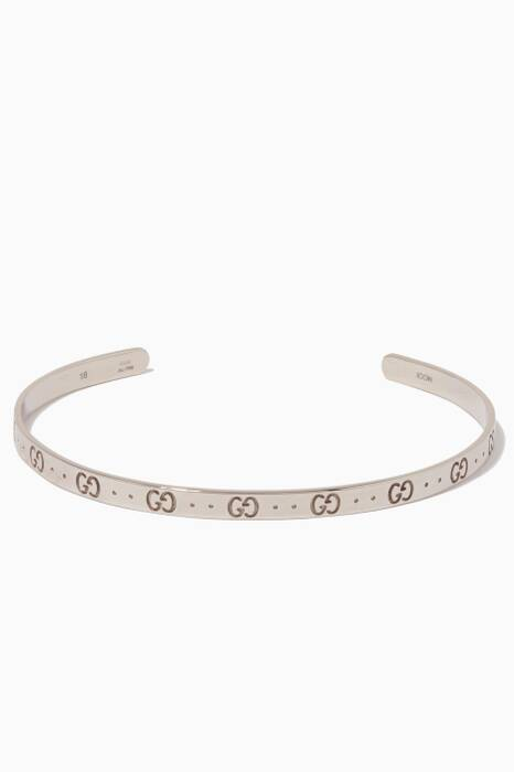 White-Gold Icon Bracelet