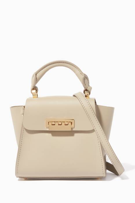 Beige Eartha Mini Top Handle Bag