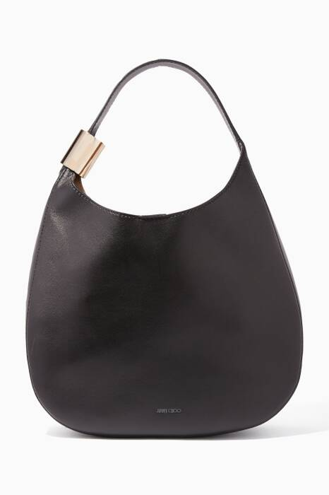 Black Stevie Shoulder Bag