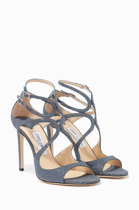 Navy Lang 100 Sandals