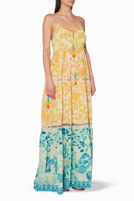 Yellow Clarion Maxi Dress