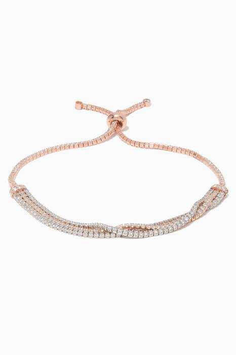 Rose Gold Embellished Bracelet