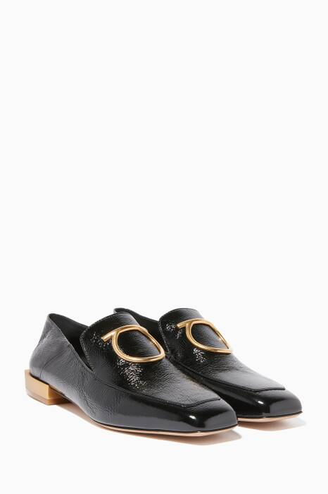 Black Patent Lana Loafers