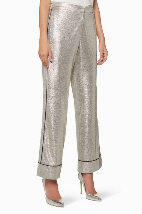 Pale-Gold Pia Pyjama Pants