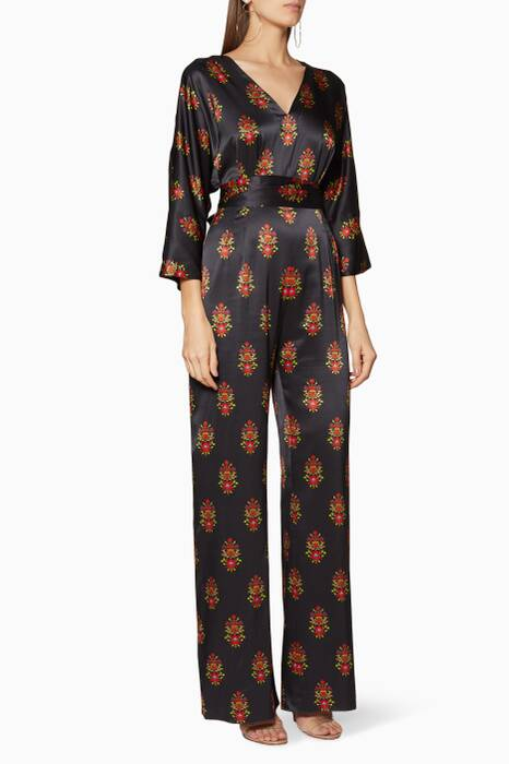 Multi-Coloured Printed Kimi Jumpsuit
