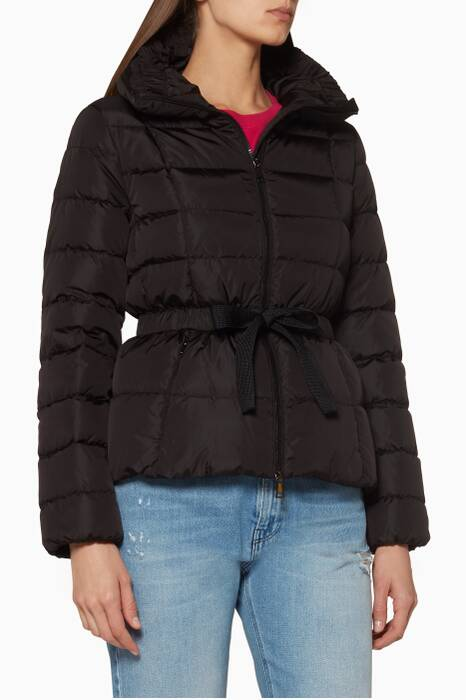 Black Quilted Avocette Jacket