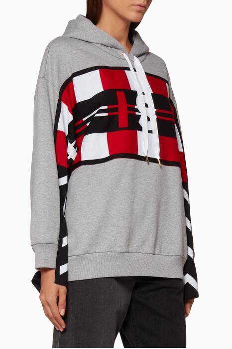 All Is Love Patchwork Hoodie