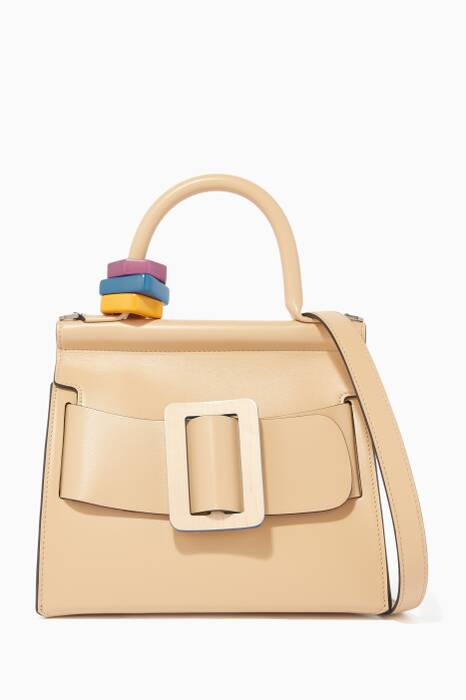 Beige Karl 24 Top-Handle Bag