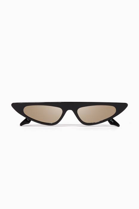 Black Florence Cat-Eye Sunglasses