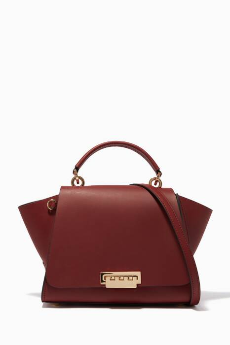 Smoked Merlot Eartha Iconic Convertible Backpack