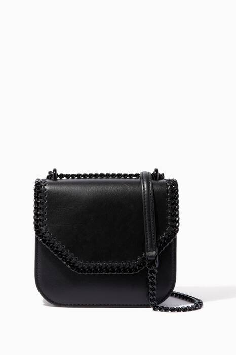Black Mini Falabella Box Shoulder Bag