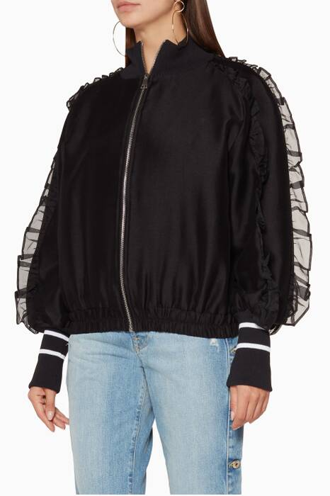 Black Some Kind Of Wonderful Bomber Jacket