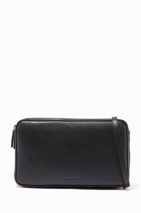 Black Cornelia Triple-Zip Bag