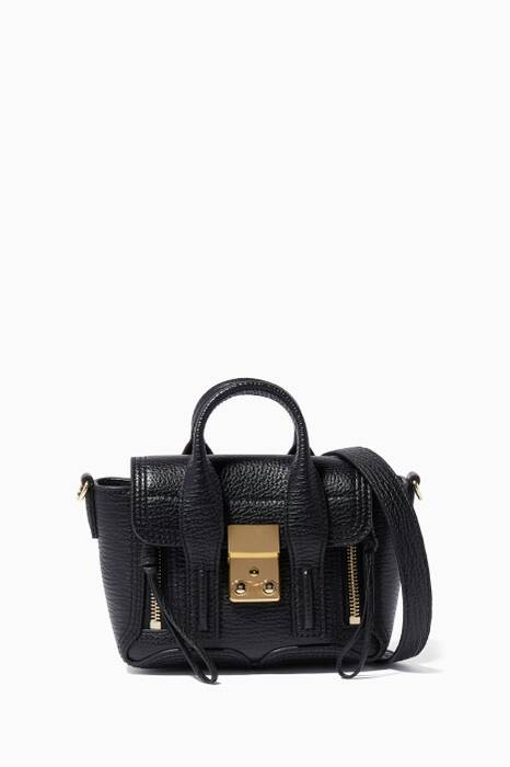Black Nano Pashli Satchel