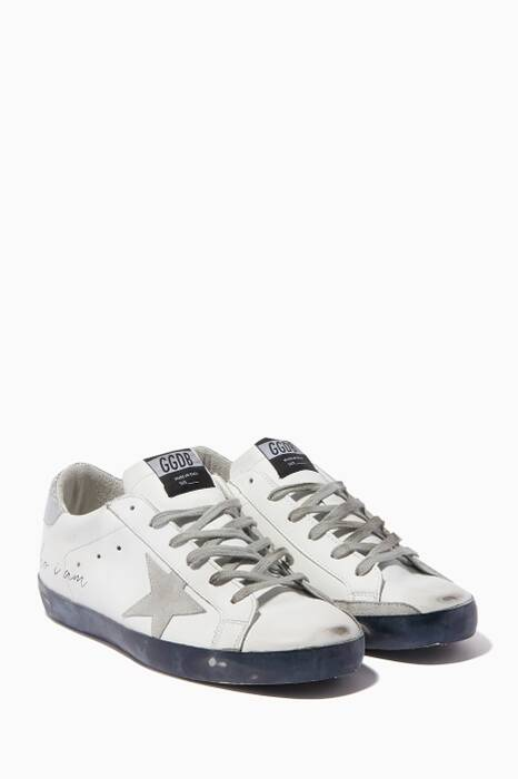 White Love Me For Who I Am Superstar Sneakers